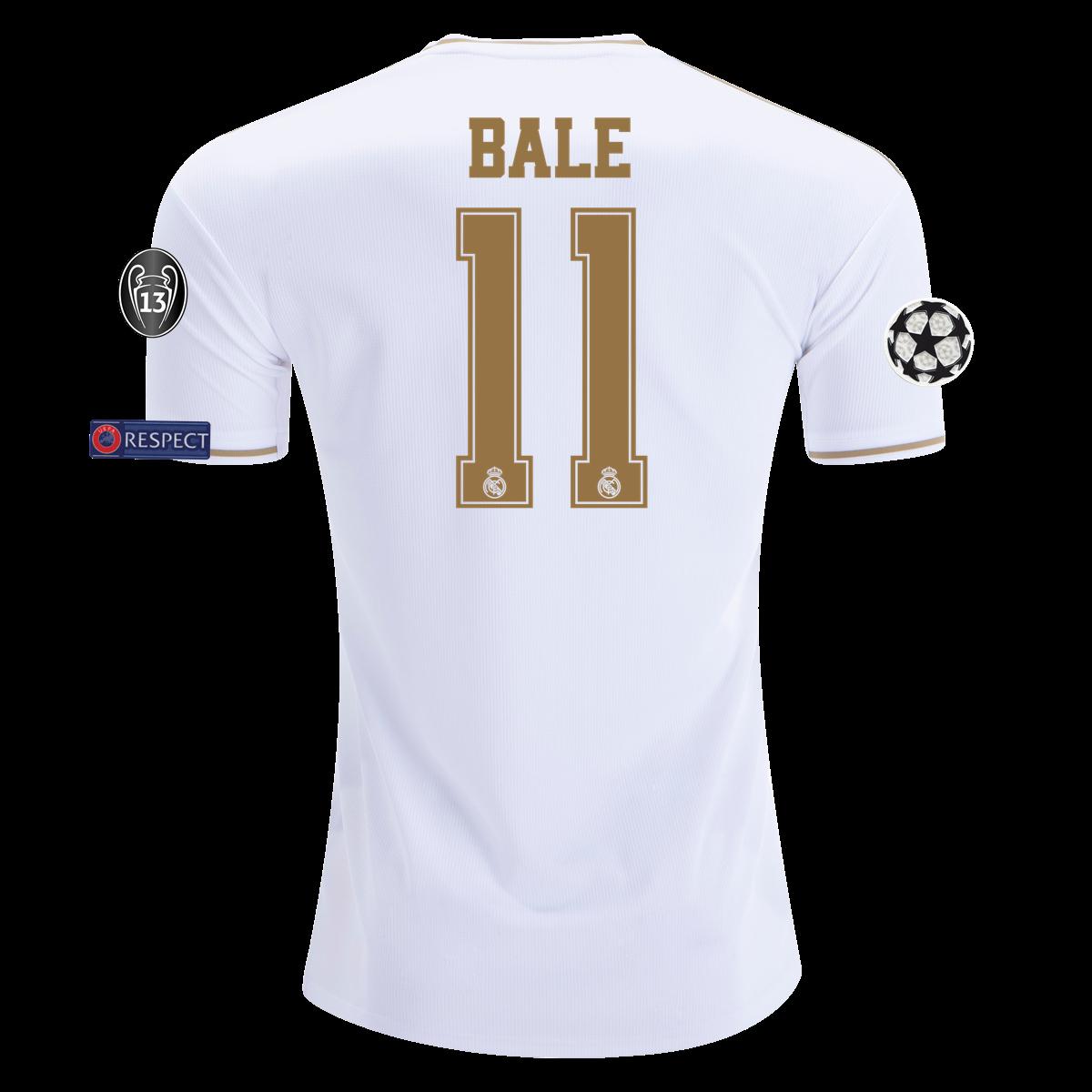Adidas Gareth Bale Real Madrid Home Jersey 19 20 Xl Bale Real Real Madrid Gareth Bale