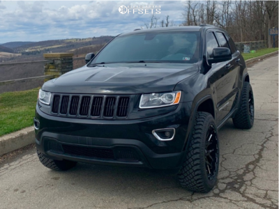 2015 Jeep Grand Cherokee 20x9 5 5mm V Rock Recoil Jeep Grand