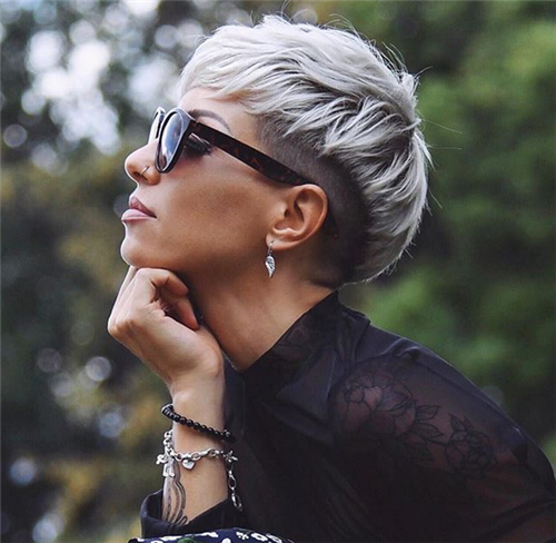 Sexy Pixie Haircuts Ideas For Women #shortpixie