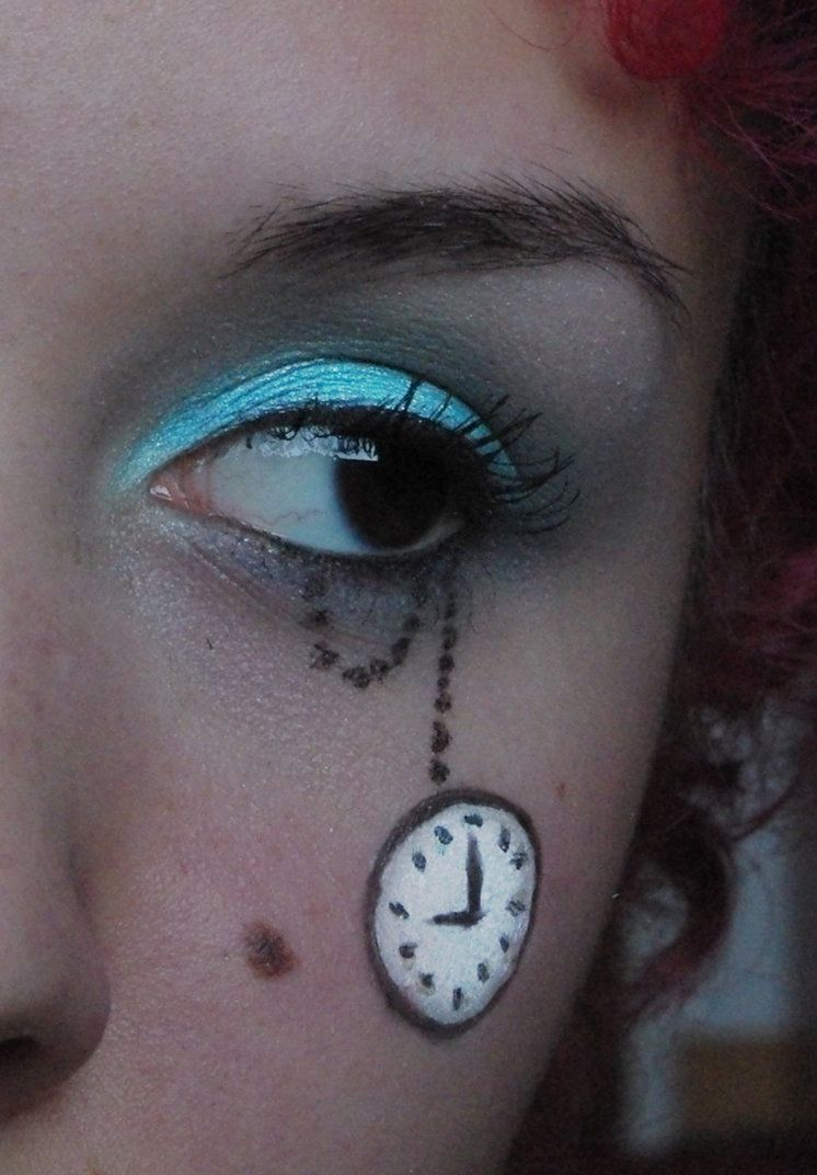 alice in wonderland inspired eye makeup | halloween | pinterest