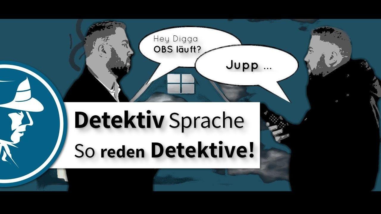 Detektiv Sprache Wie Reden Detektive Miteinander Private Investigator Movies Berlin