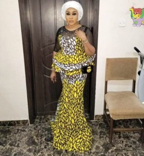 Ankara Skirt And Blouse Style For Wedding 2018