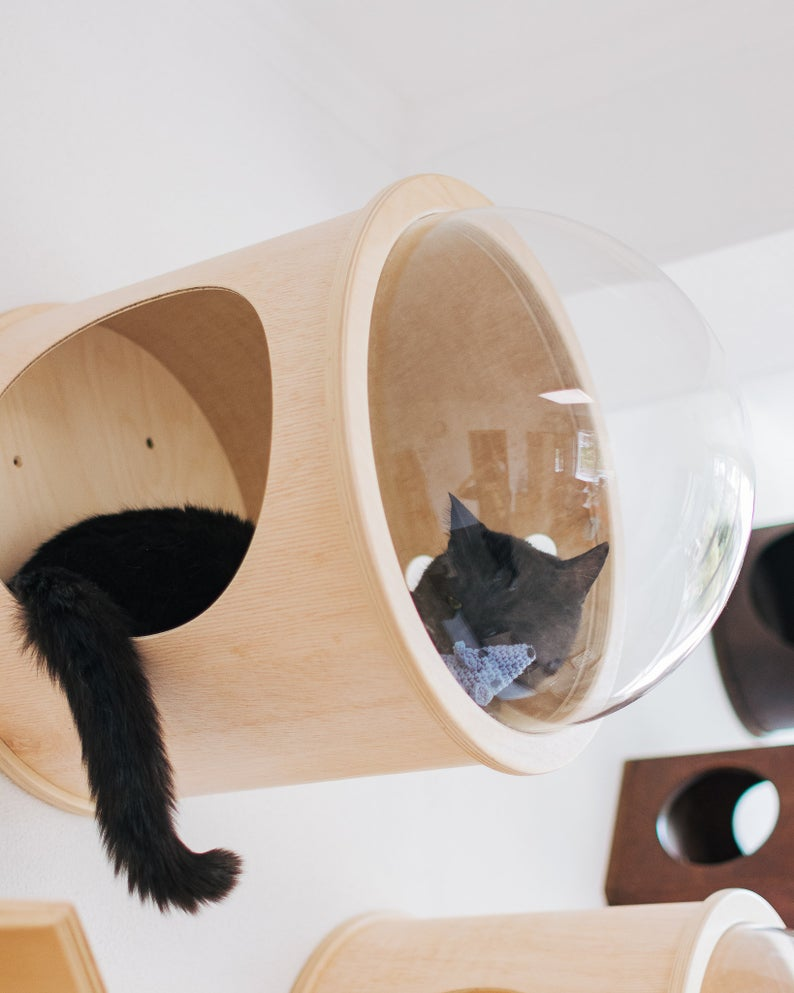 House For Cat Cat Bed Cat House Indoor Cat House Pets Etsy Luxury Cat Bed Modern Cat Bed Cat Accessories Pet