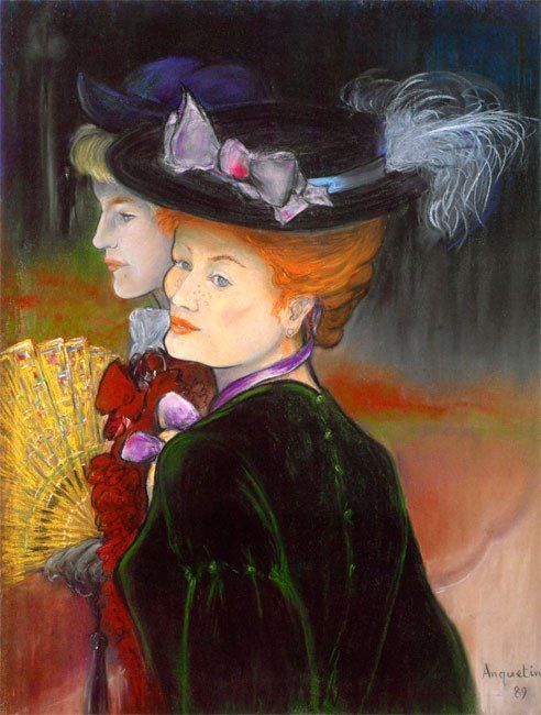 """MATILDA sur Twitter : """"LOUIS ANQUETIN  (26 January 1861 – 19 August 1932) was a French painter. https://t.co/zG0TQ9Zqy9"""""""