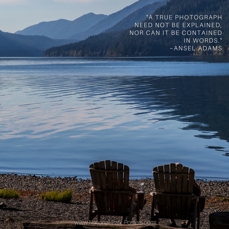Image Robert B Decker Quote Ansel Adams Photography National Park Posters National Parks Ansel Adams