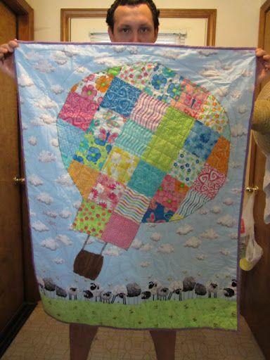 Hot Air Balloon Quilt Quilts Pinterest See Best