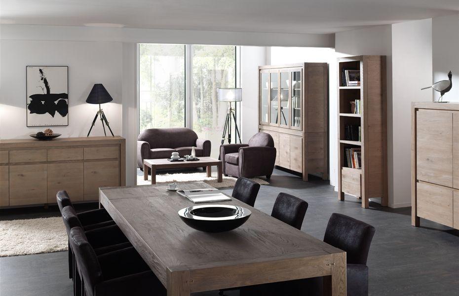 Eik collectie fineer meubelen eik moderne interieurmeubelen pinterest eetkamer promotie - Moderne woonkamer eetkamer ...