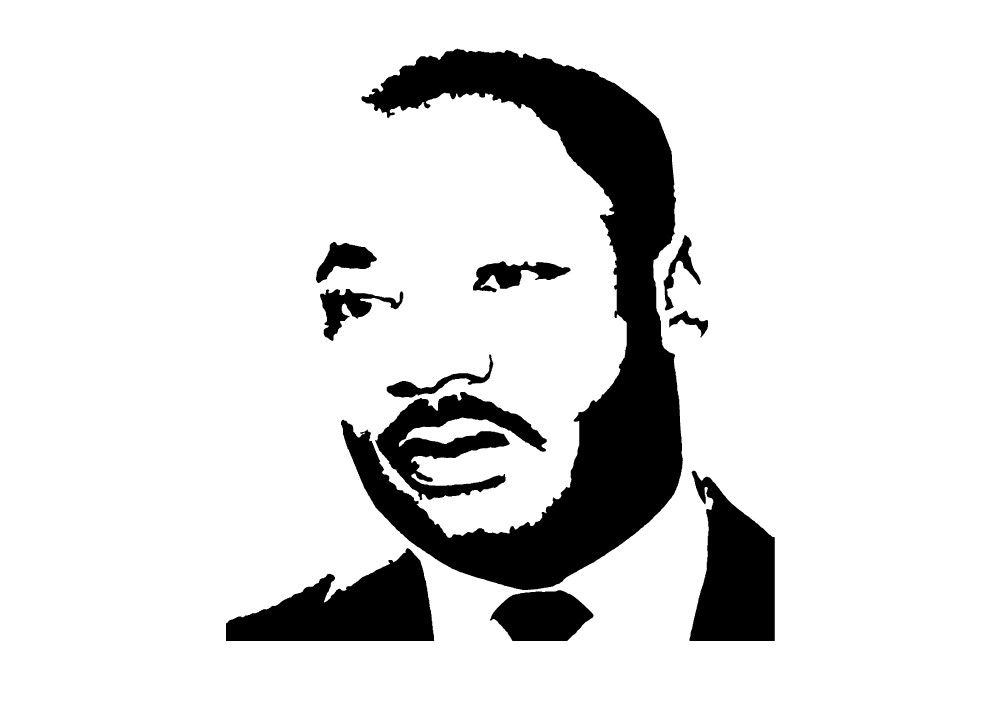 Free Martin Luther King Clipart Clip Art Library Clip Art Library Black And White Cartoon Clip Art