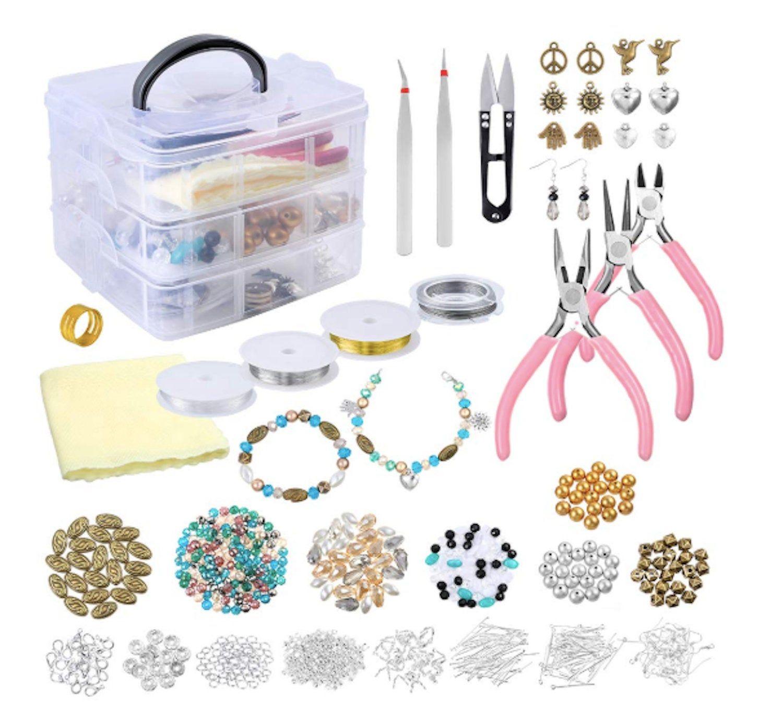 Jewelry Making Starter Kit Jewelry Making Supplies For Jewelry