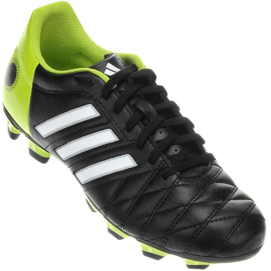 094b734980e7e Chuteira Adidas 11Questra TRX FG Campo Preta   Verde