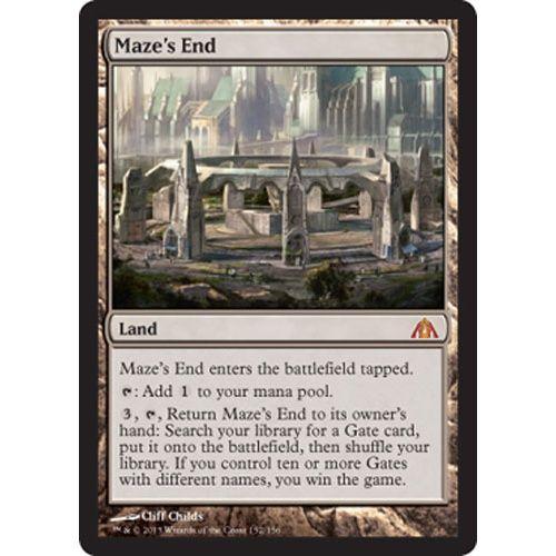 Maze's End