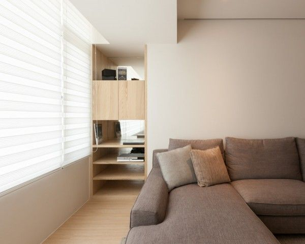 Room · modern apartment design maximizes space minimizes distraction