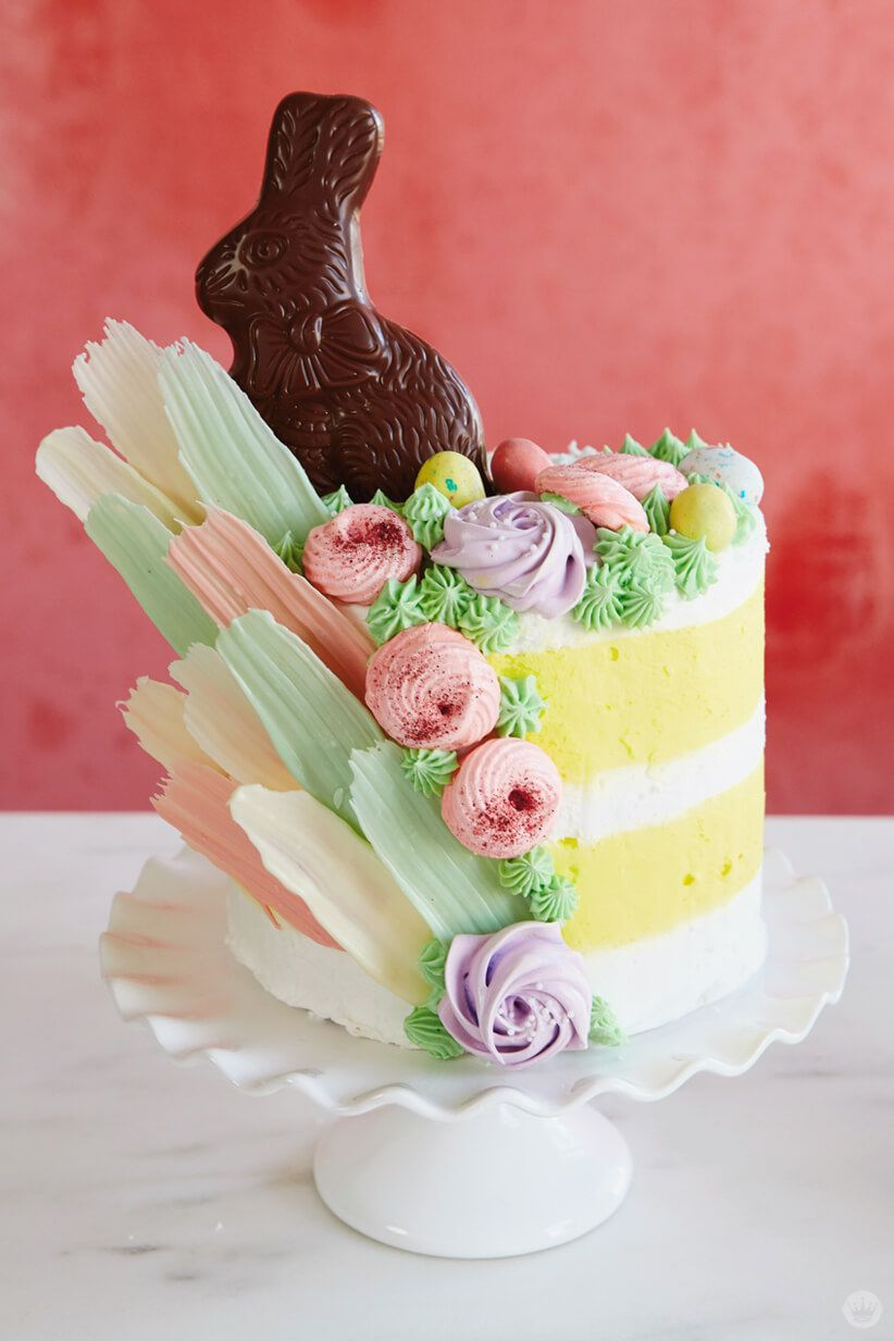 Over The Top Easter Cake Ideas Bunnies Brushstrokes