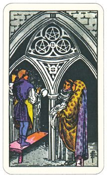 3 of Pentacles - 2nd decan Capricorn or Mars in Capricorn Capricorn Things ~ A Slideshow   Auntie Moon