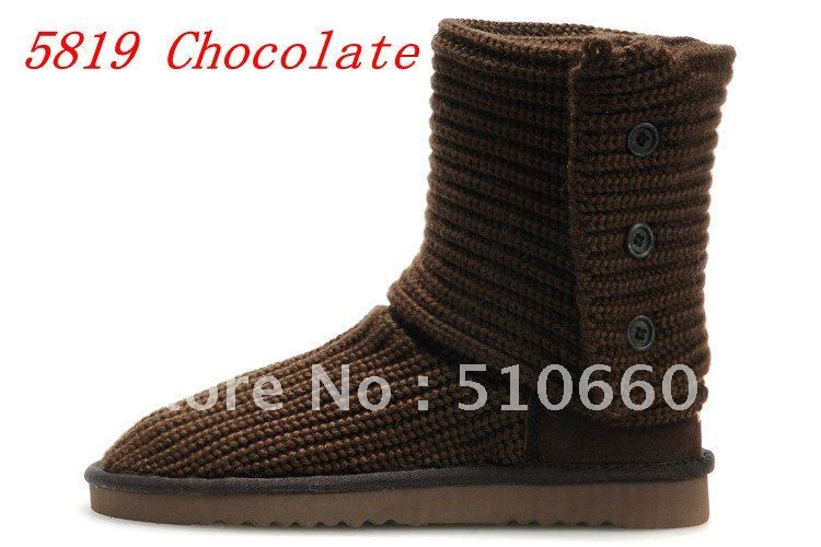 Hot Sale 5819 Women Classic Cardy Snow Boots in Chocolate Brand ...