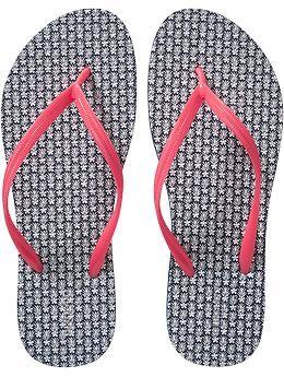 25efbef04d3e3 Women s Patterned Flip-Flops