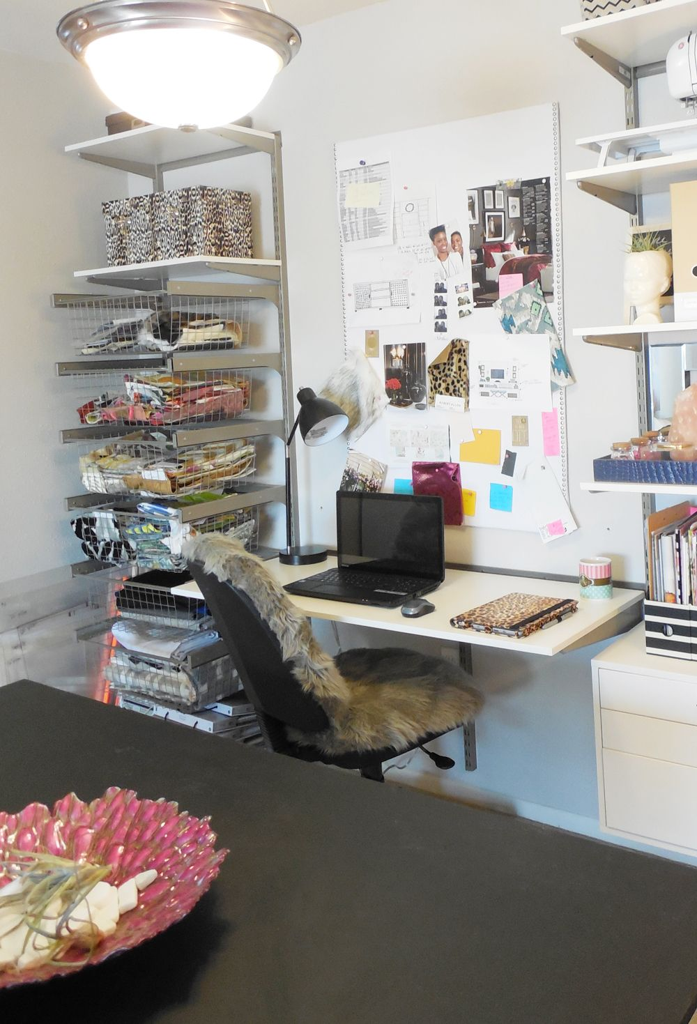 dining room home office. Small Home Office Tour Via Whitney J Decor Dining Room O