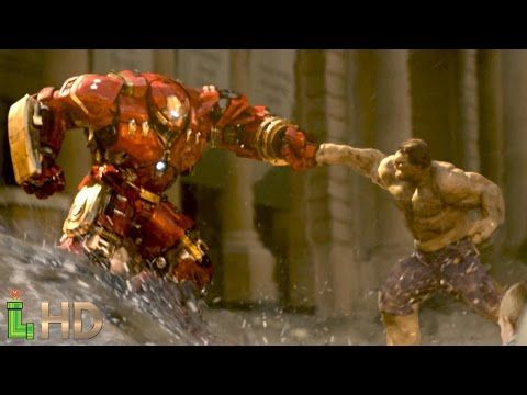 Hulk Vs Hulkbuster Full Fight Scene Cut Hd All Hulk Smash Scenes