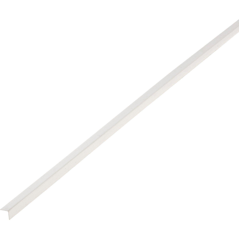 Corniere Pvc Blanc 10 X 10 Mm L 2 6 M Blanc Pvc Produit