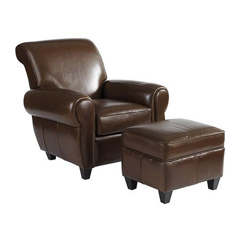 Enjoyable Paris Leather Chair Ottoman Pottery Barn Look Alikes Caraccident5 Cool Chair Designs And Ideas Caraccident5Info