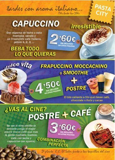 Anúncio em revista de divulgação de shopping para o restaurante Pasta City. http://www.miolodigital.com.br
