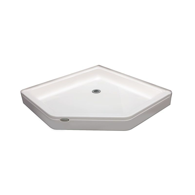 Jacuzzi Cay4242snxxxx Cayman 42 X 42 Neo Angle Shower Pans With
