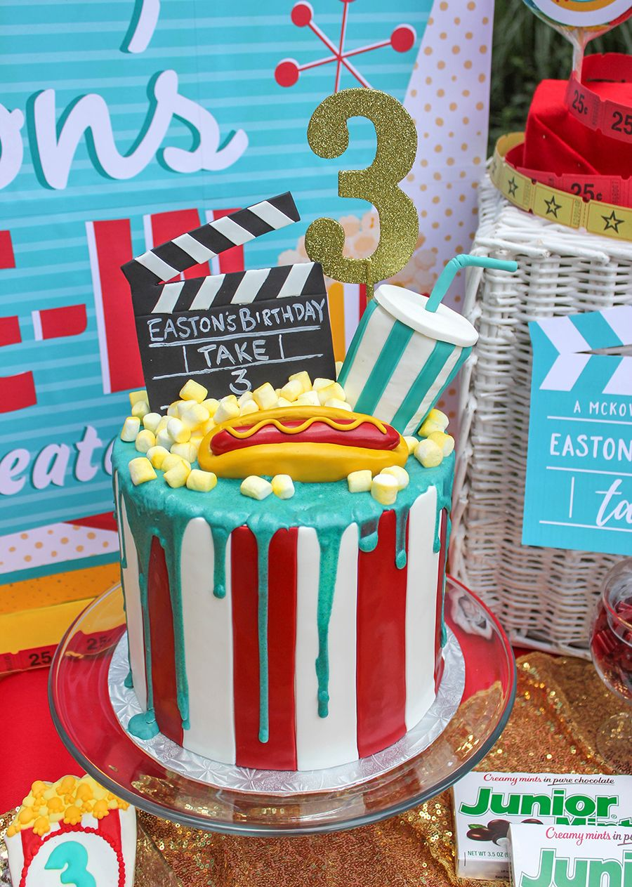 Easton's Retro DriveIn Movie Party ! BEST DESSERTS