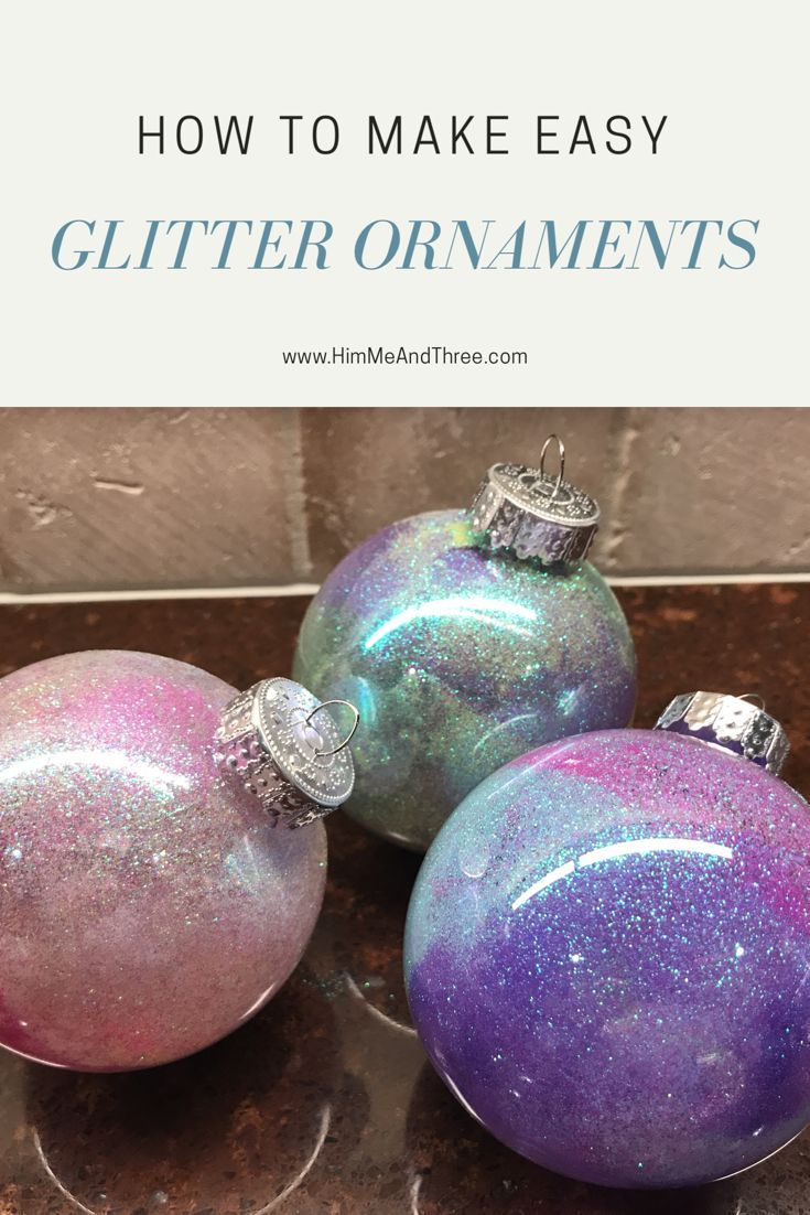 25+ Christmas ornaments no glitter ideas