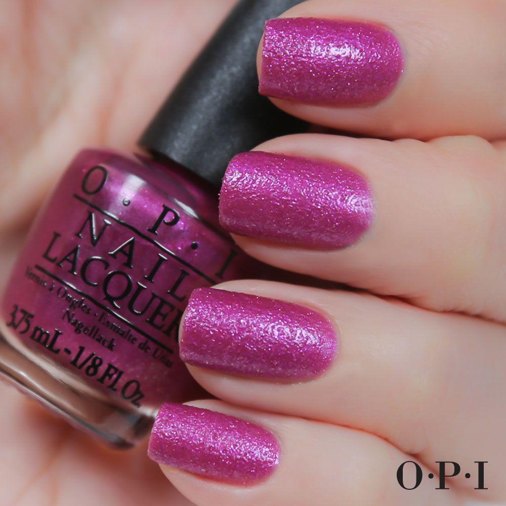 Samaba-dy Loves Purple #LiquidSand #OPIBrazil