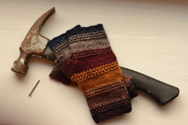 Ravelry: Tool Box Mitts pattern by Adventure Du Jour Designs