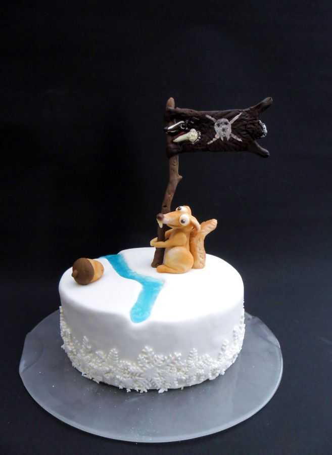 by coconuts64  cake birthday cake kids ice age cake