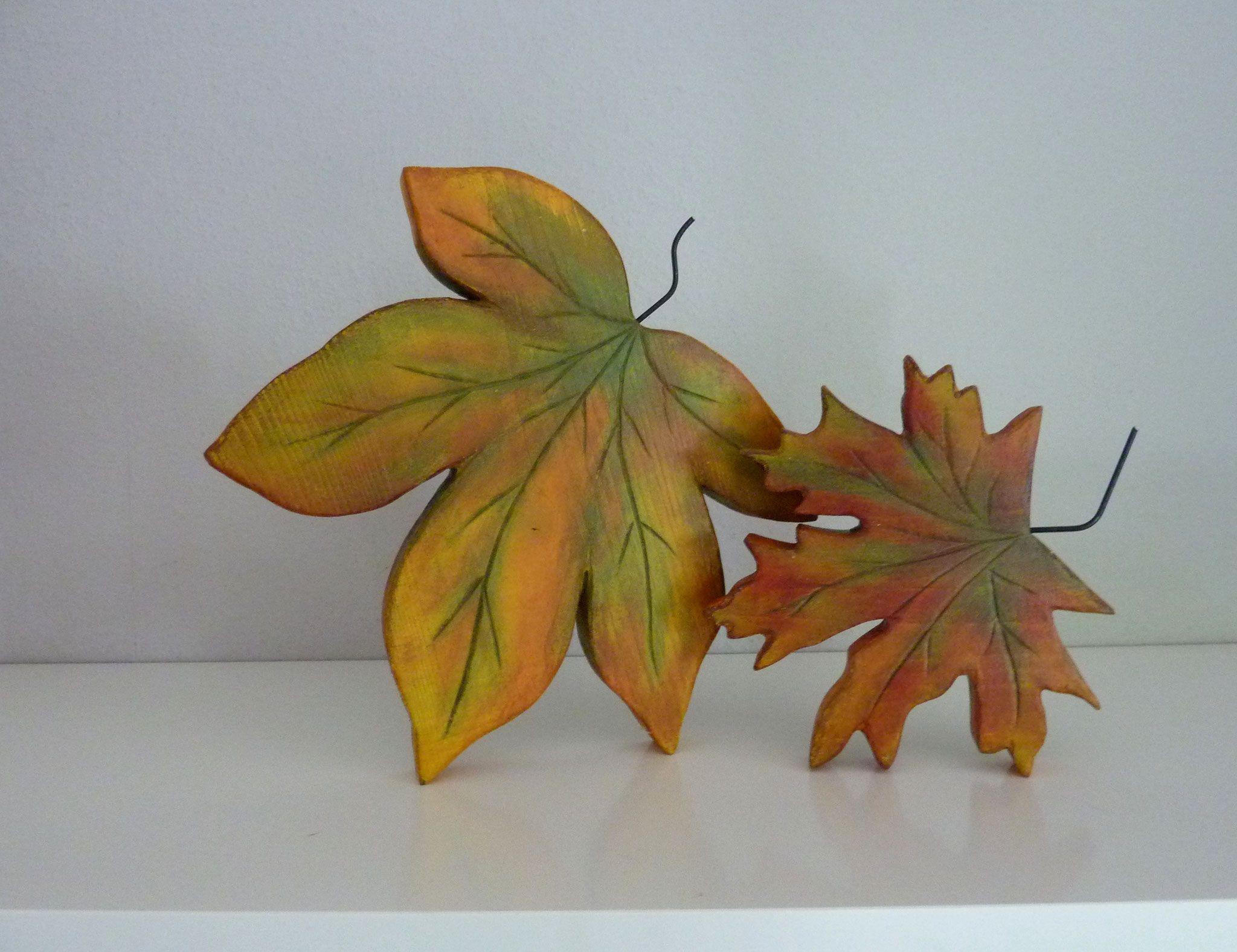 Herbstdeko Holz