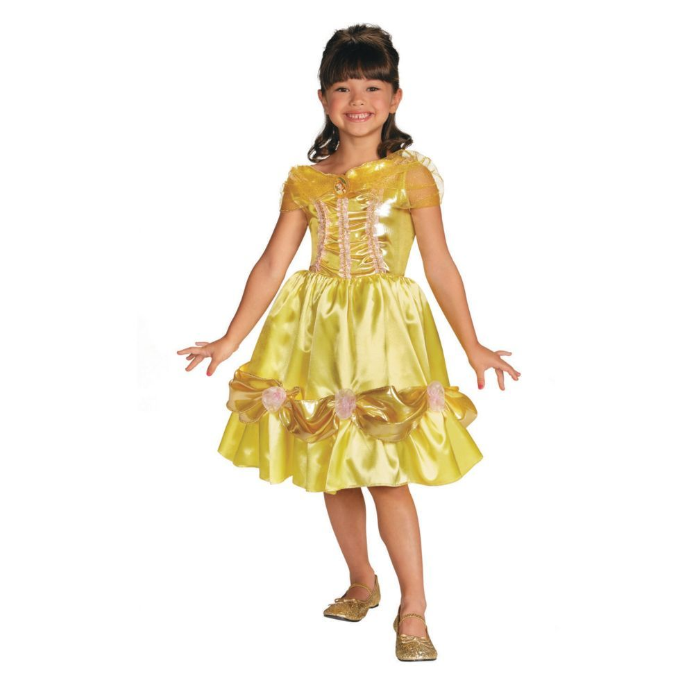 Disney Beauty and the Beast Belle Ball Gown Classic Child Costume Medium 7-8