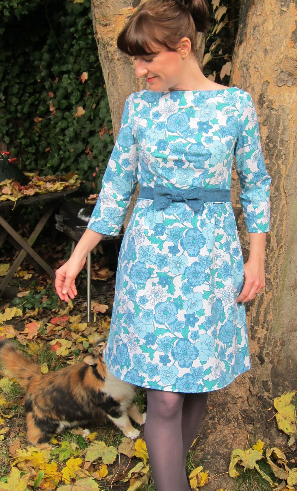 bedsheet dress. colette peony.   Sewing   Pinterest