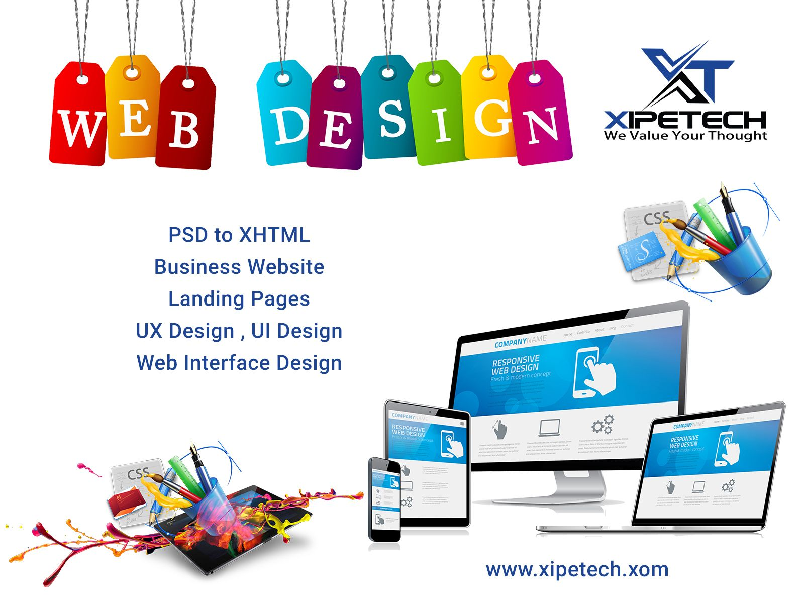 Xipe Tech Is A Reputed Software Development Company In Lucknow Offering Seo Social Media Market Website Design Services Web Design Services Website Design