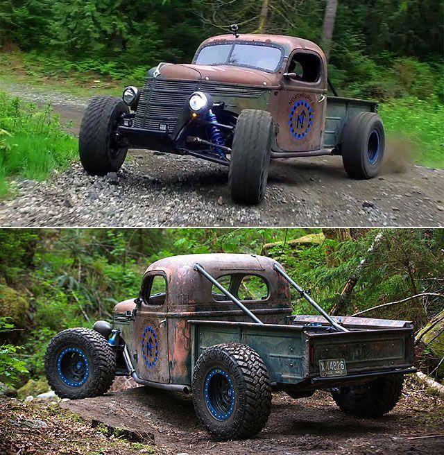 Rat Rod Diesel Trucks #Ratrodtrucks