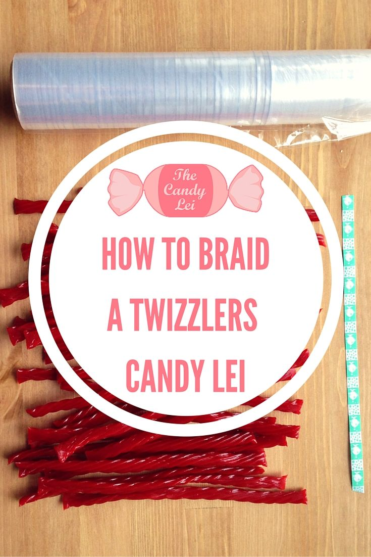 how to make candy leis for graduation
