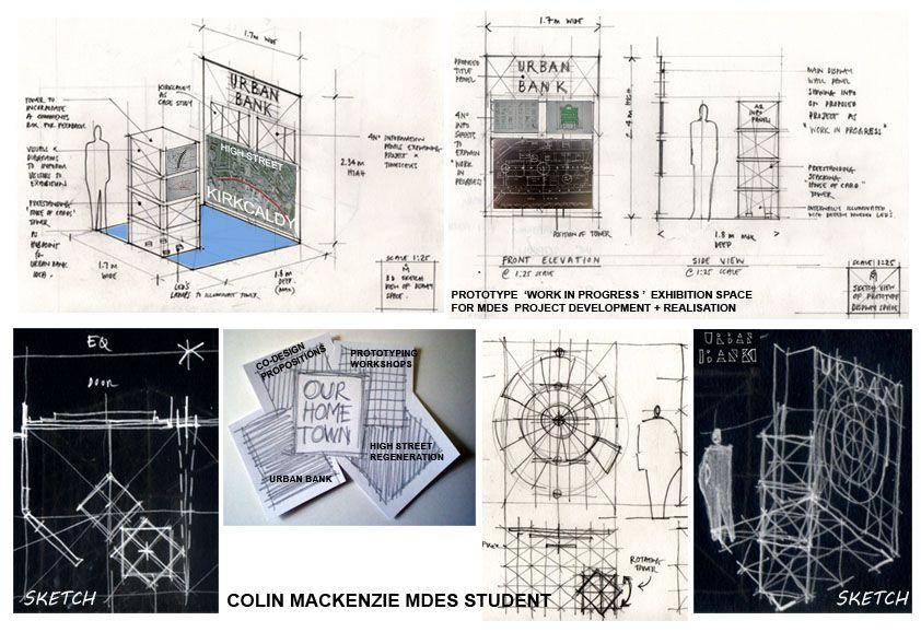 ISEA u2014 Exhibit Design Exhibit design and Interior design sketches - copy blueprint design ideas