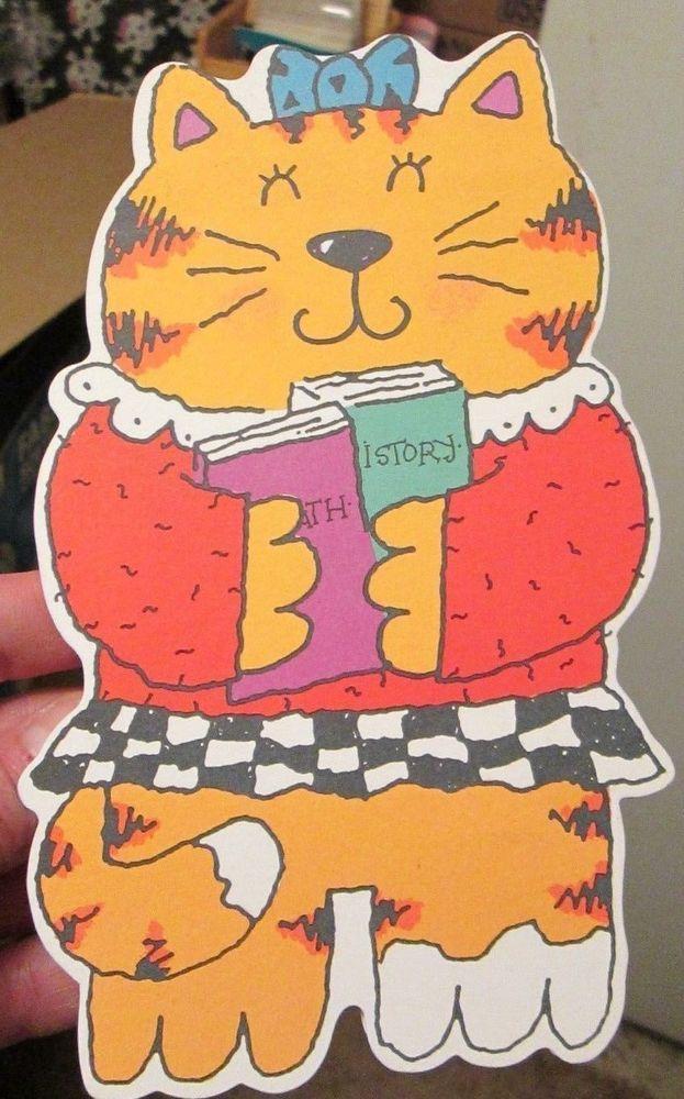 Unused hallmark greeting card happy birthday friend girl kitty cat unused hallmark greeting card happy birthday friend girl kitty cat school books m4hsunfo Gallery