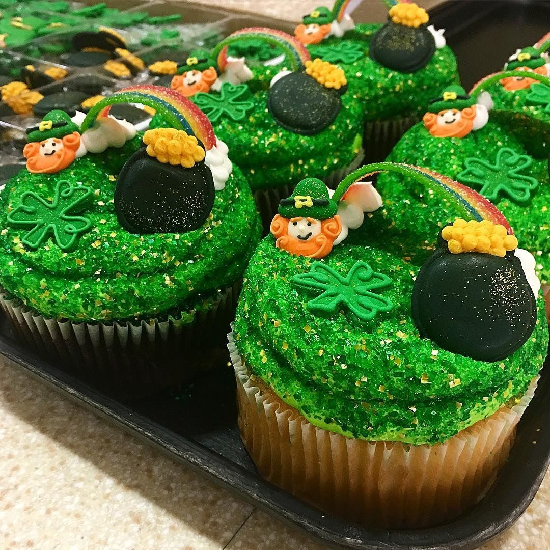 Top Your Cupcakes With Something Sparkly For St Pat S Available
