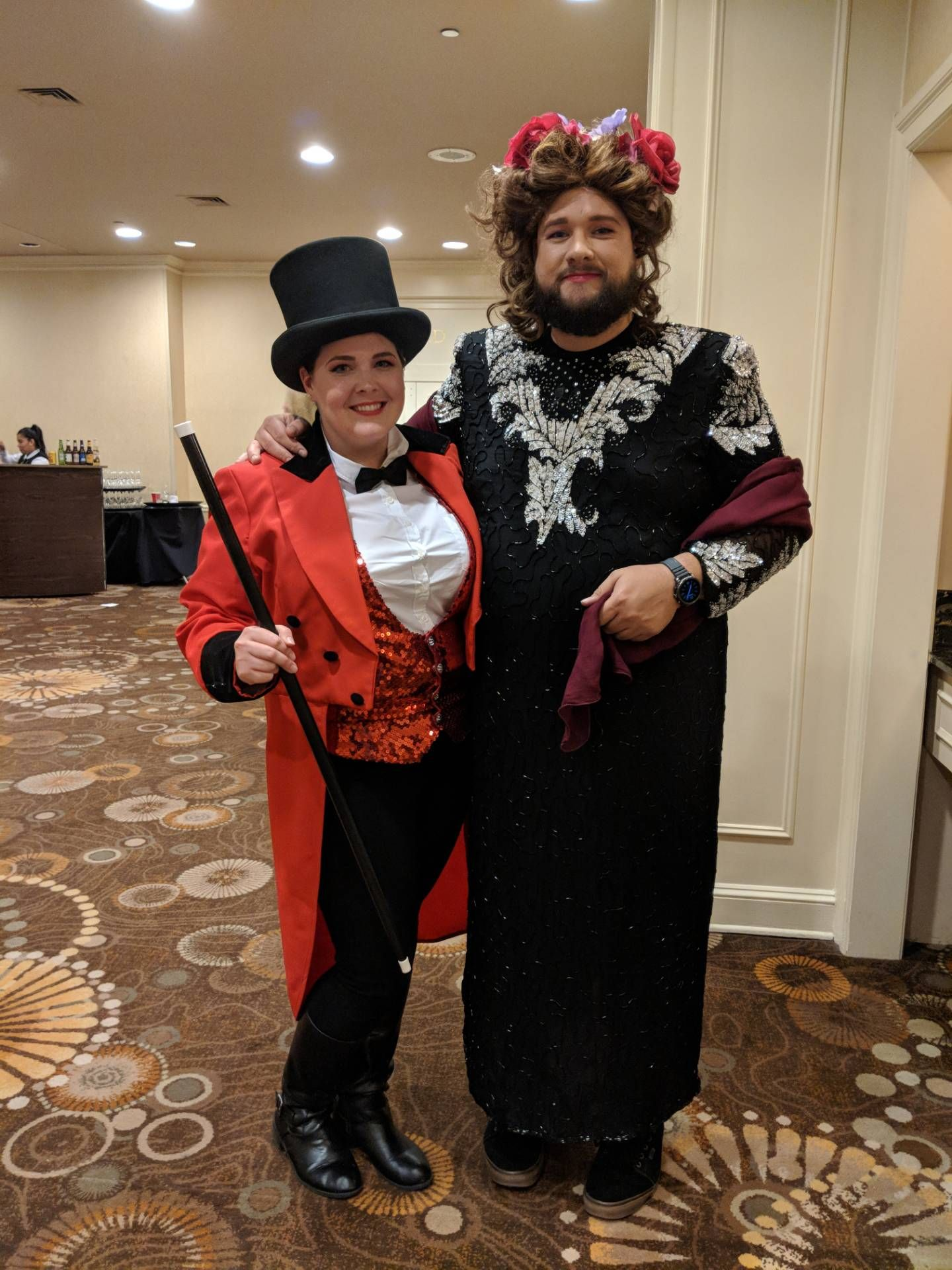 The Greatest Showman Couples Costume Pt Barnum And The Bearded