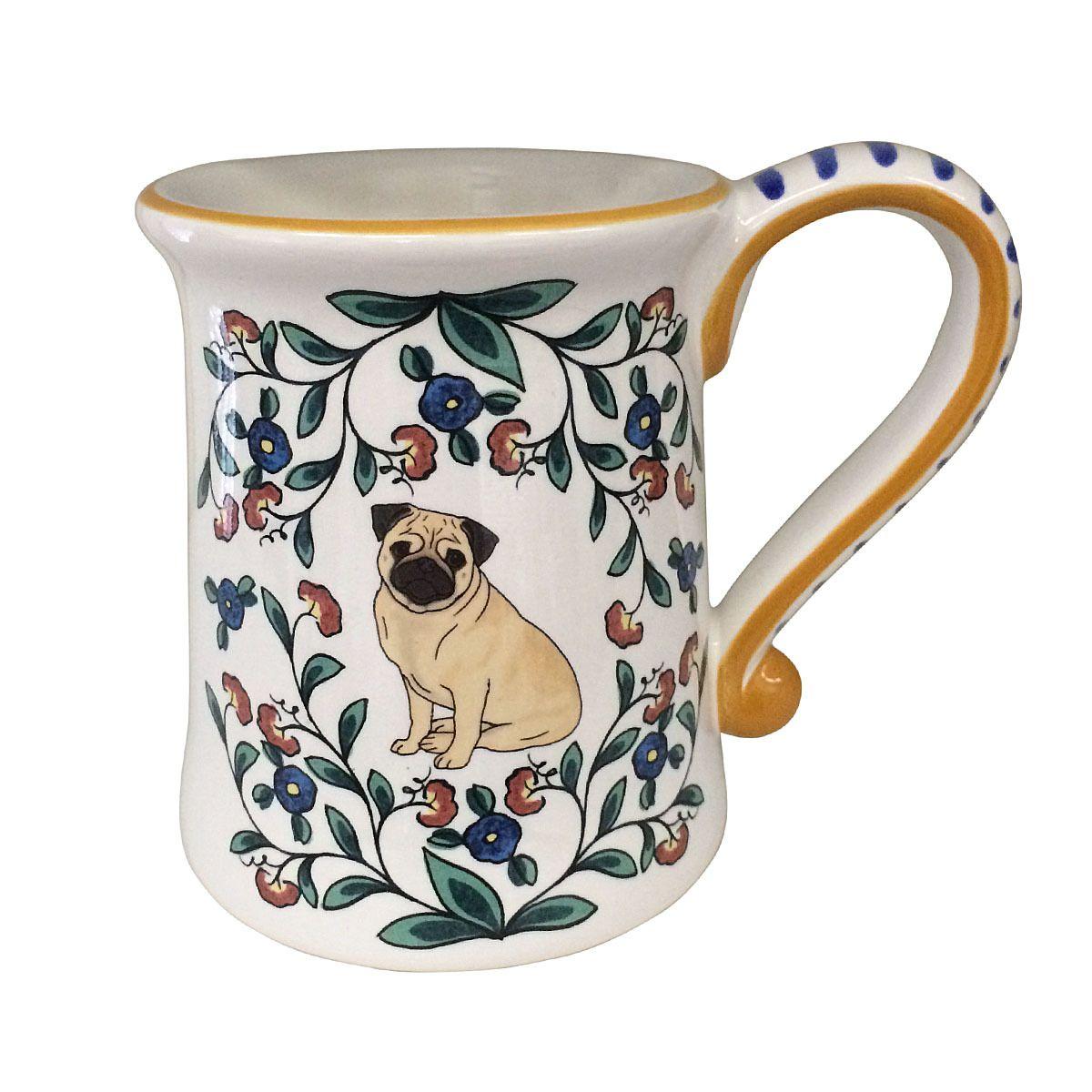 Pug Mug | Pug Coffee Cup | Shepherds Grove