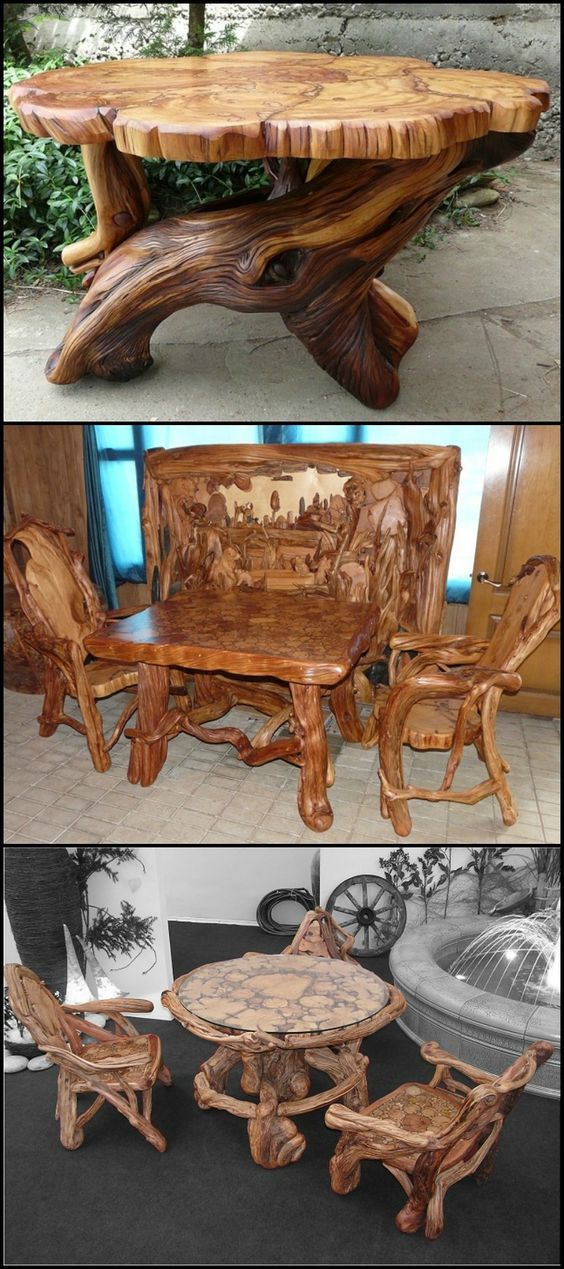 unique rustic furniture wood log furniture western on extraordinary creative wooden furniture design id=57601