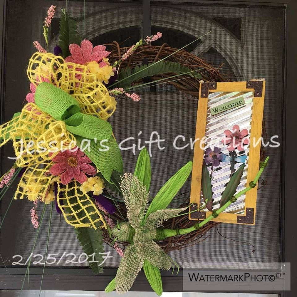 NEW ReadytoShip Gather Together Lotus and Rosemary WreathFront Door WreathFall WreathSeasonal Door HangerThanksgiving WreathCandy Corn