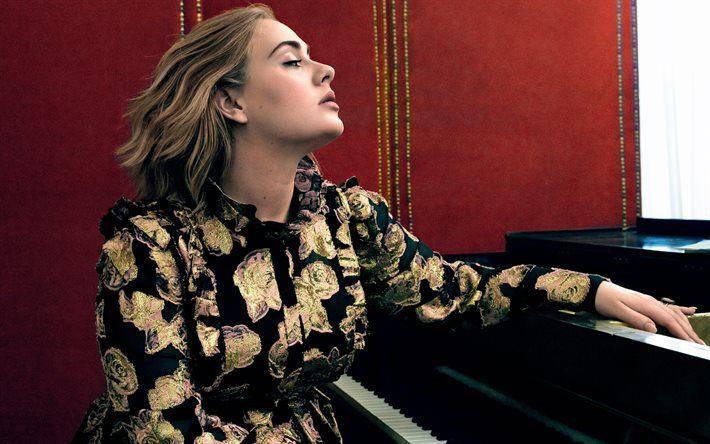 Adele Singer Laurie Blue Adkins Vogue Beauty