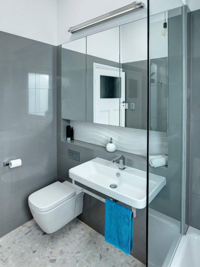 Diseño de cuartos de baño, ideas para distribuir sanitarios y - Sanitarios Pequeos