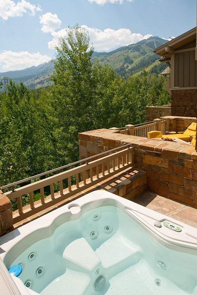 Hot Tub Off Mater Suite With Best Views Of Jackson Hole Mountain Resort And Teton Village Jackson Hole Mountain Resort Teton Village Hot Tub