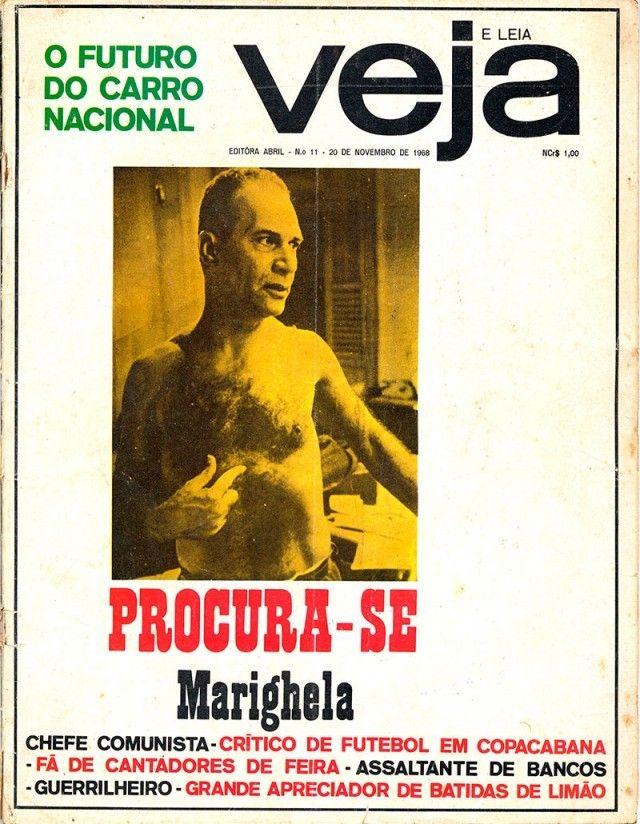 """A revista """"Veja"""", de 20 de novembro de 1968, traz perfil do ..."""