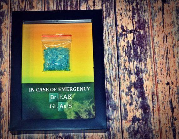 Blue Meth, Crystal Methamphetamine, Blue Crystal - Gift for Breaking Bad Fan  by DaisyChainOnline, $15.99