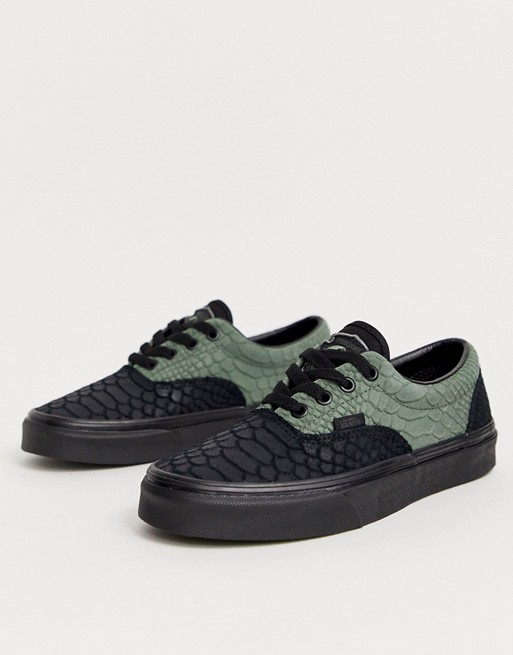Vans X Harry Potter Slytherin Era trainers | Leather